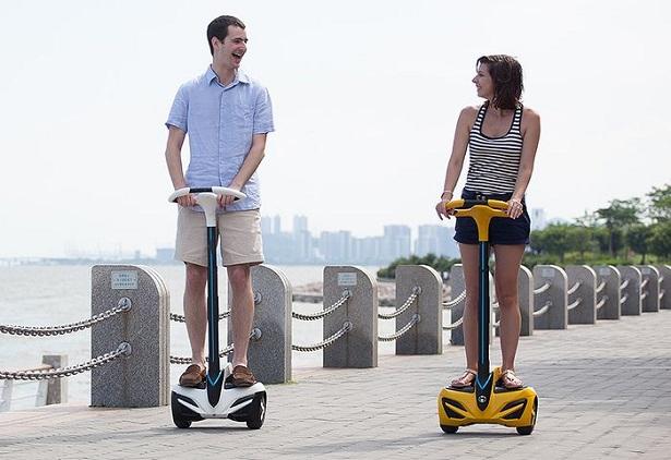 Сигвей — двухколёсное средство передвижение
