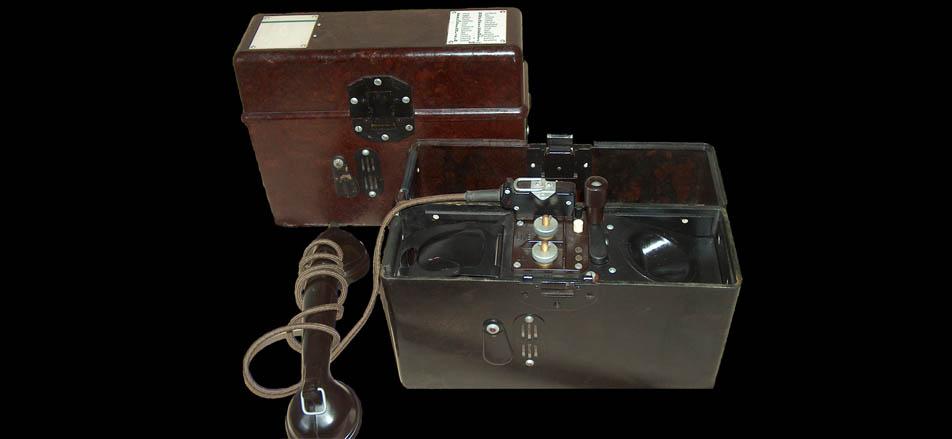 Телефон Feldfernsprecher 33